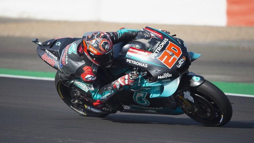 MotoGp, test a Misano: Quartararo domina, si ferma Lorenzo