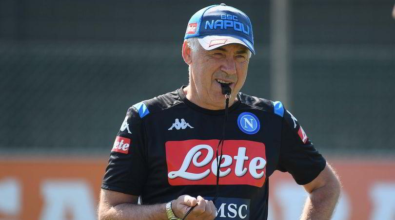 """Champions League Napoli, Ancelotti: """"Sorteggio? Meglio dell'anno scorso..."""""""