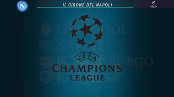 Calendario Partite Champions.Champions League Il Calendario Di Napoli Juve Inter Ed