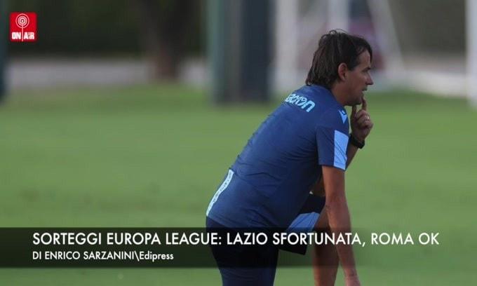 Sorteggi Europa League: Roma ok, Lazio sfortunata