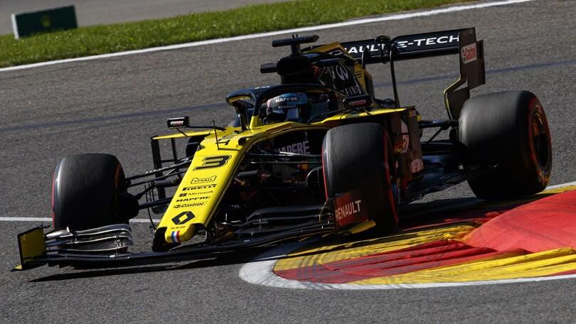 Gp Belgio: penalità in griglia per Ricciardo, Hulkenberg e Sainz