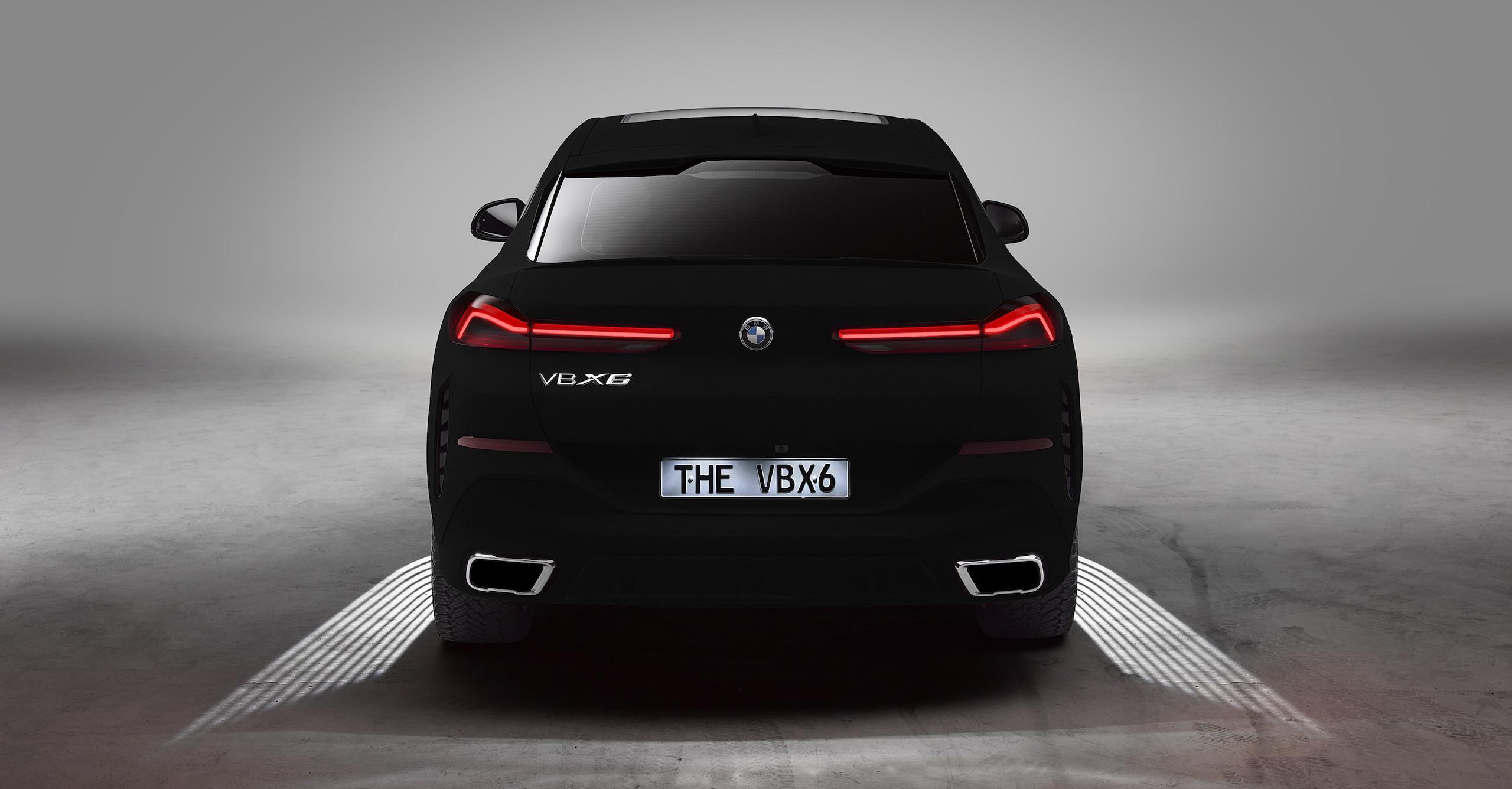 BMW X6 Vantablack: le immagini