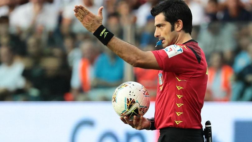 Cagliari-Inter, cambia l'arbitro: dirige Maresca