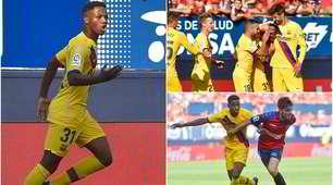 Ansu Fati, gol a 16 anni col Barcellona