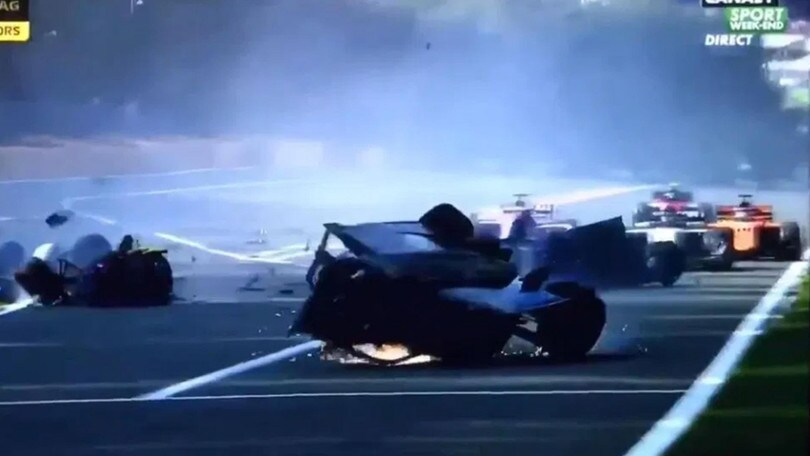 On Air: Belgio, tragedia in F2. Prima fila Ferrari in F1