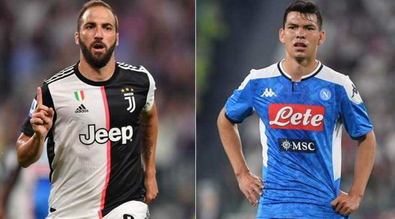 Juve-Napoli, le pagelle: Higuain, che gol. Lozano morde