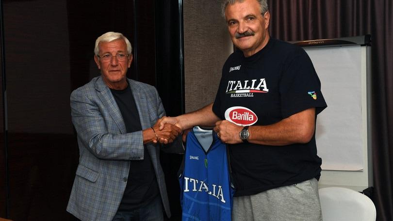 Basket, Lippi sprona l'Italia: