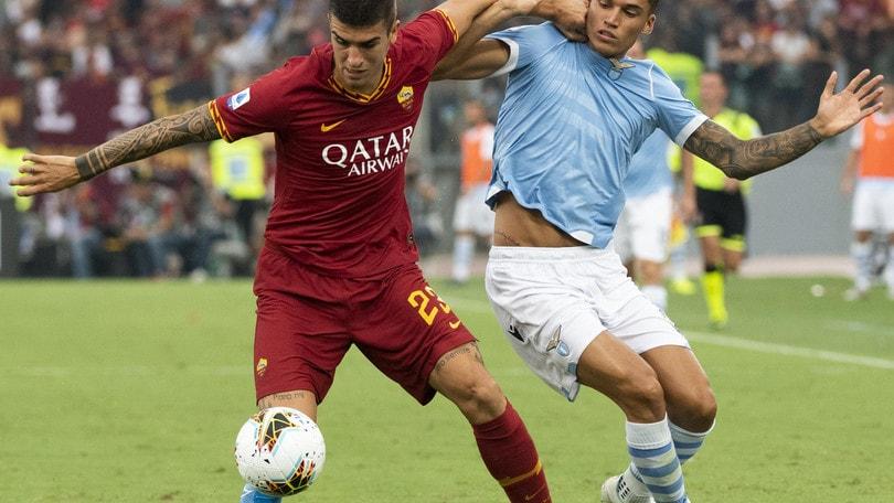 Lazio-Roma 1-1, il tabellino