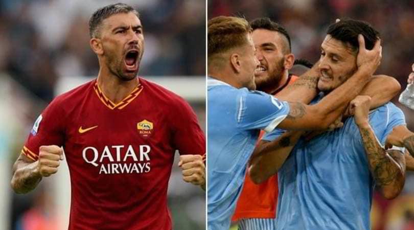 Lazio-Roma 1-1: sei legni, Luis Alberto risponde a Kolarov