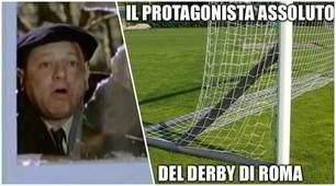 Lazio-Roma, il derby dei social