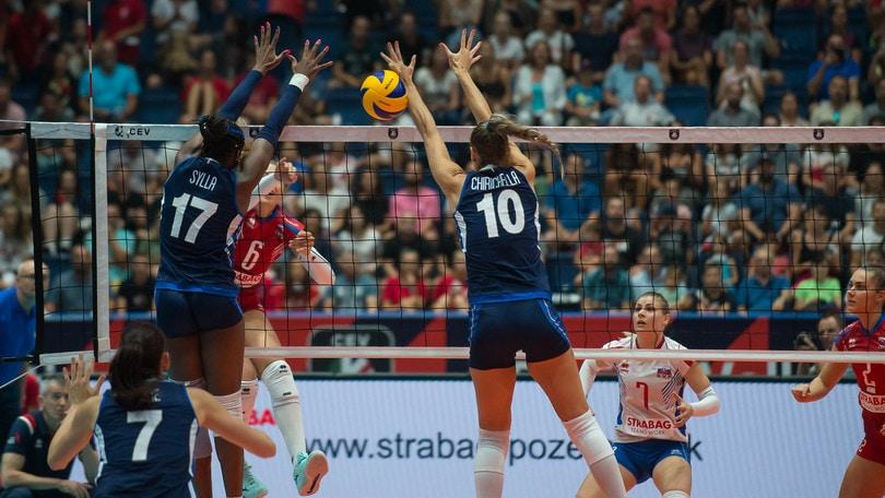 Europei Femminili: l' Italia supera la Slovacchia e va ai quarti