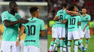 Lukaku-Lautaro Martinez, l'Inter espugna Cagliari