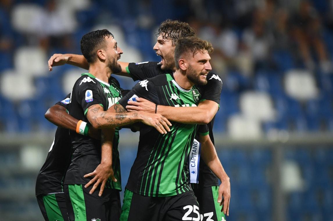 Berardi, tripletta a Di Francesco: show in Sassuolo-Sampdoria