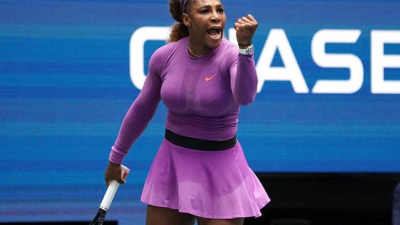 Us Open: Serena Williams ai quarti, Barty eliminata dalla Wang