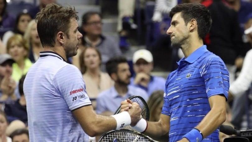 Us Open: Djokovic si ritira, ai quarti ci va Wawrinka