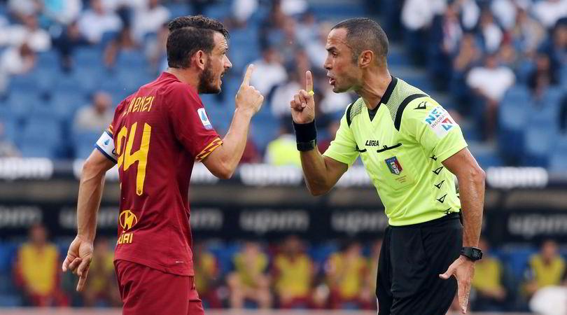 Moviola serie A, manca un rosso in Lazio-Roma