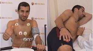 Mkhitaryanalla Roma: le visite mediche