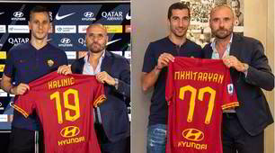 Roma, ecco il doppio colpo: Kalinic-Mkhitaryan in giallorosso!