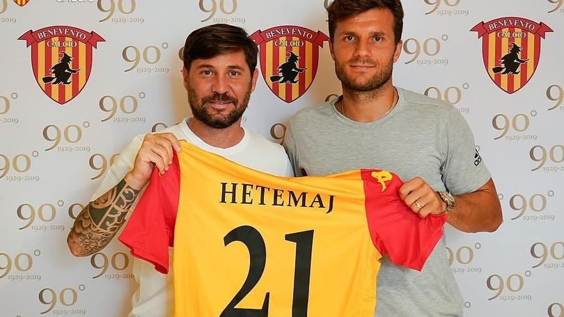 Benevento, colpo Hetemaj: è ufficiale