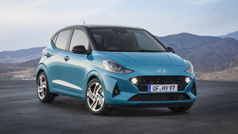 Nuova Hyundai i10, hi-tech al Salone di Francoforte