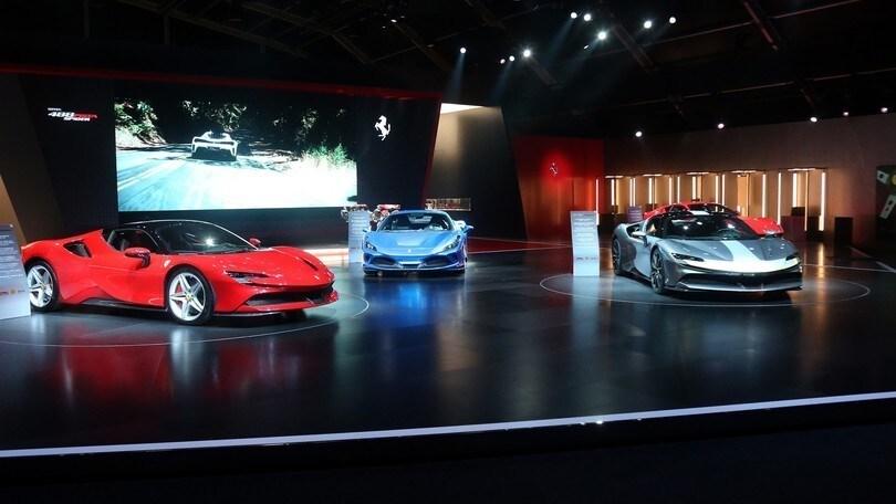 Universo Ferrari, la leggenda rossa in esposizione
