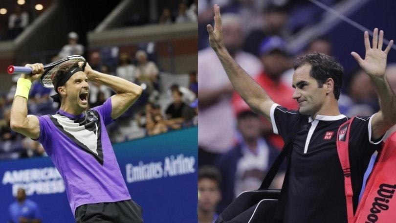 Us Open: Federer eliminato, Dimitrov in semifinale