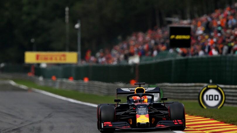 Gp d'Italia: nuovo motore, partenza dal fondo per Verstappen