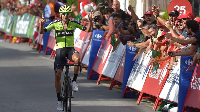 Vuelta: trionfo Iturria all'undicesima tappa, Roglic resta in rosso
