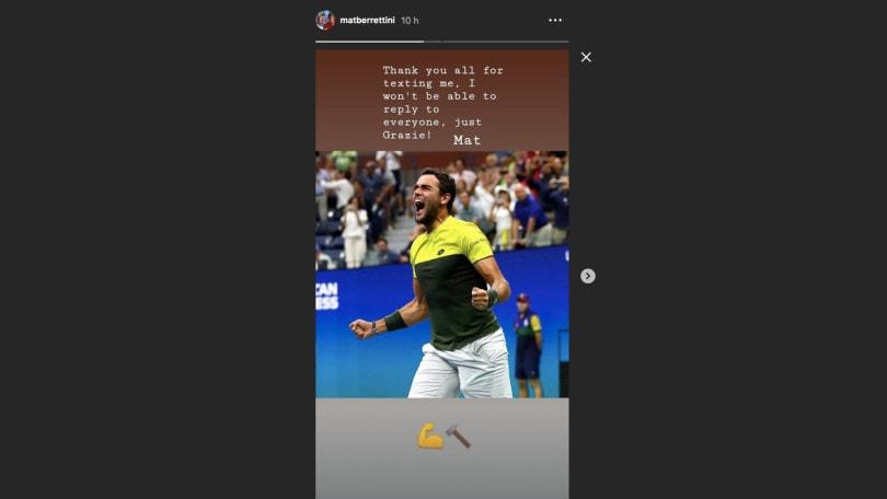 """Us Open, Nadal: """"Berrettini? Tanti progressi e picchia forte"""""""