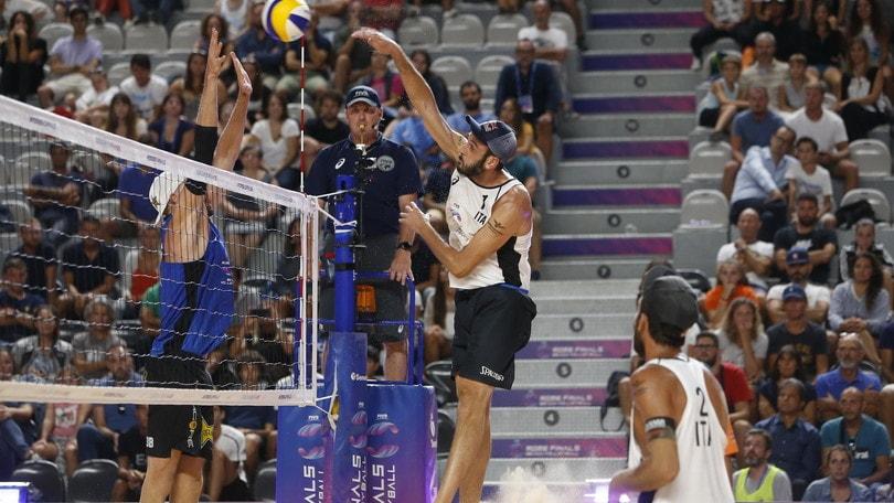 Roma Beach Finals: Lupo-Nicolai chiudono la 1a giornata con un ko