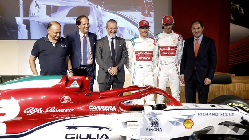 Gp d'Italia: livrea speciale per l'Alfa, Norris omaggia Valentino Rossi