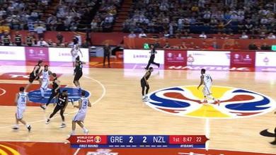 Grecia, riscatto contro la Nuova Zelanda