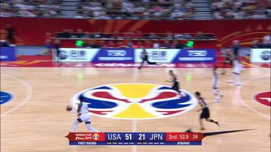 USA versione Dream Team contro il Giappone