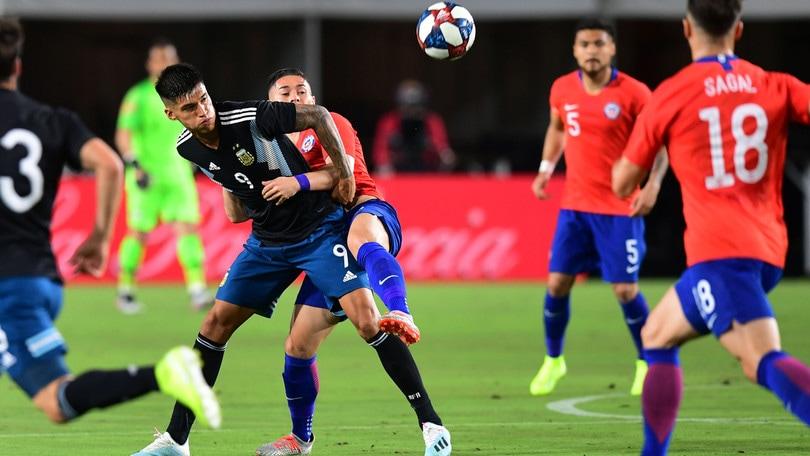Correa titolare nell'Argentina con Dybala e Lautaro Martinez: 0-0 con il Cile