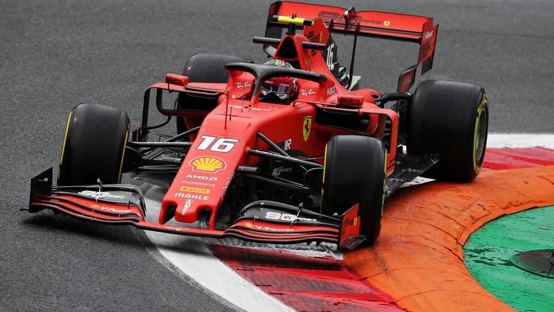 Gp d'Italia, Leclerc chiude in testa le prime libere