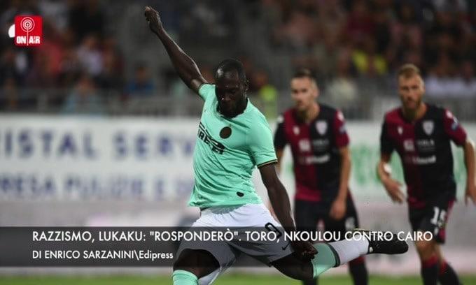 """Razzismo, Lukaku: """"Risponderò"""". Torino, Nkoulou contro Cairo"""