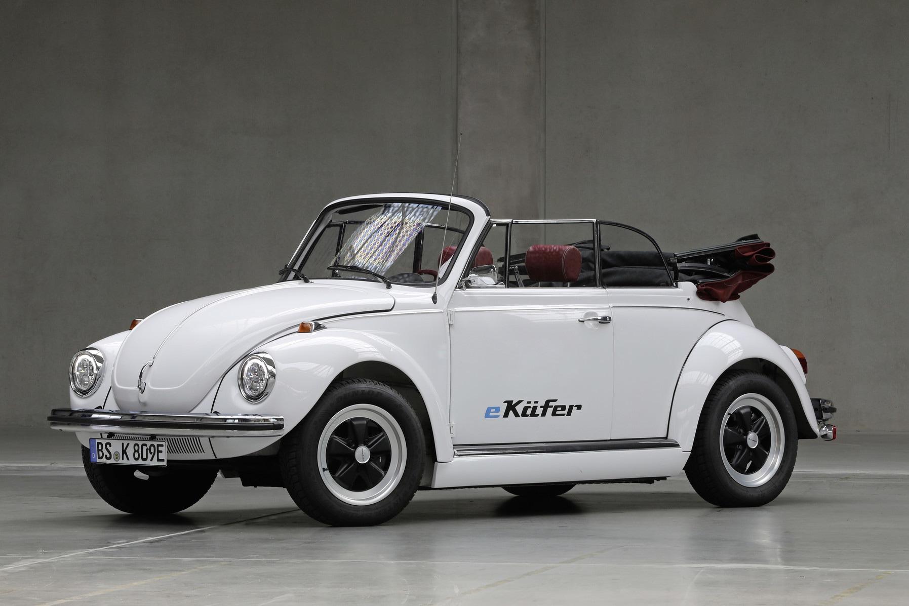 Volkswagen eKafer, ecco il Maggiolino elettrico: le immagini