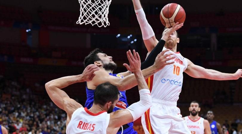 Italia fuori dai Mondiali di Basket: la Spagna vince 67-60