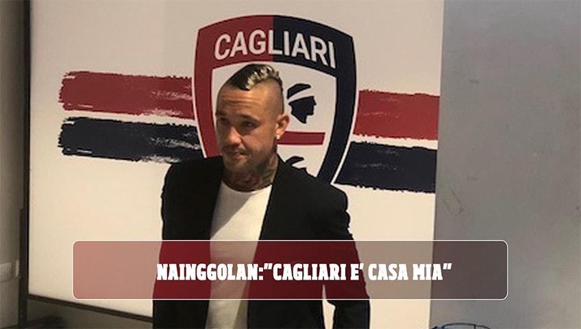 """Nainggolan: """"Cagliari è casa mia"""""""