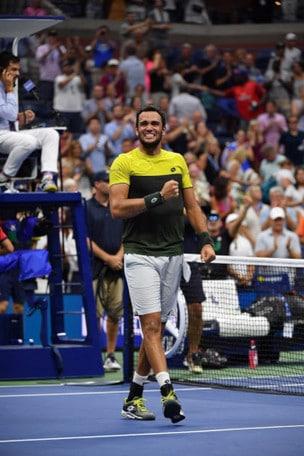 Matteo Berrettini con Lotto:  agli US Open un'impresa tutta italiana