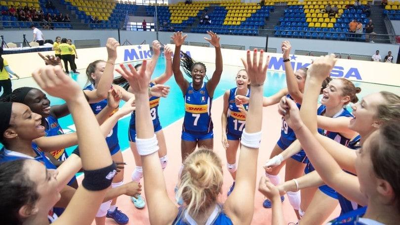 Mondiali U 18 Femminili: l'Italia batte gli Usa