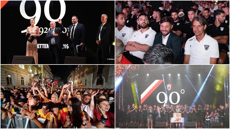 Il Benevento festeggia i 90 anni di storia