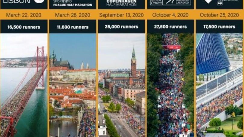 Calendario Maratone Internazionali 2020.Superhalfs La Gara Che Unisce Lisbona Praga Copenaghen