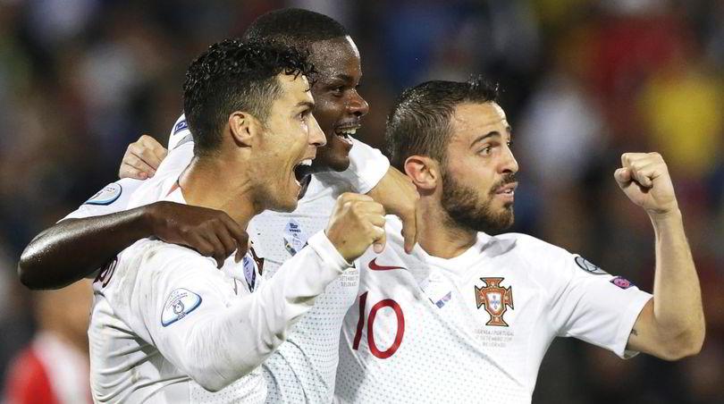 Euro2020: Cristiano Ronaldo stende la Serbia, troppo Coman per Strakosha