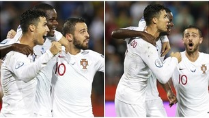 Portogallo, Cristiano Ronaldo decisivo con uno splendido scavetto
