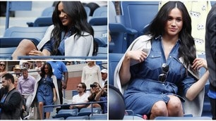 Us Open, c'è Meghan Markle a tifare Serena Williams
