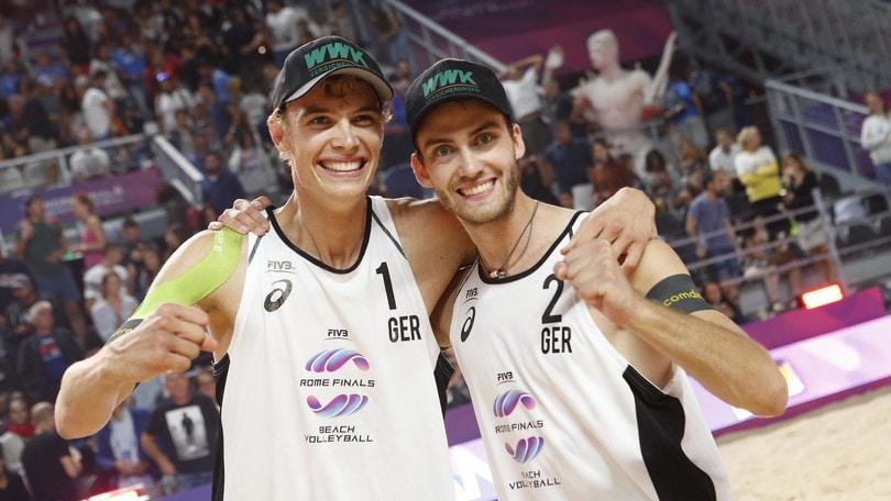 Roma Beach Finals: Germania-Russia e Germania-Brasile le finali