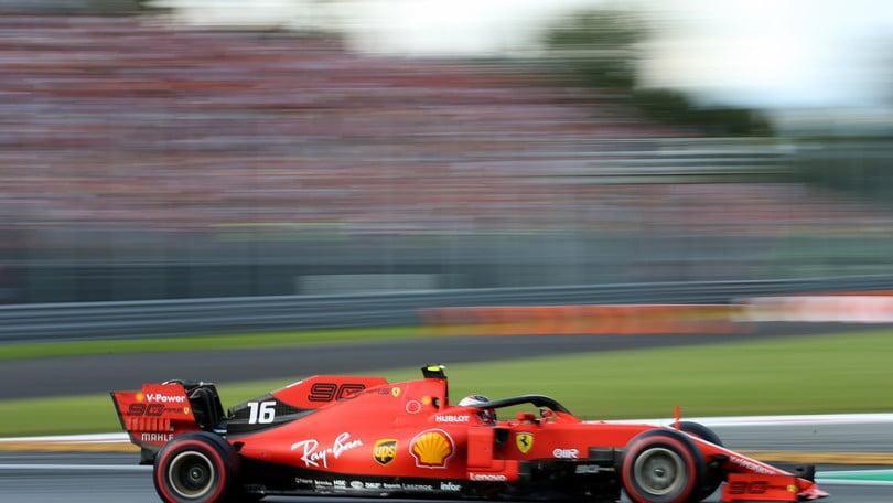 Gp d'Italia, Leclerc in pole: griglia di partenza e diretta TV