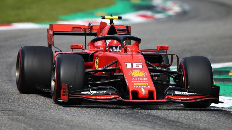 Gp d'Italia: Leclerc infiamma Monza, è vittoria Ferrari!