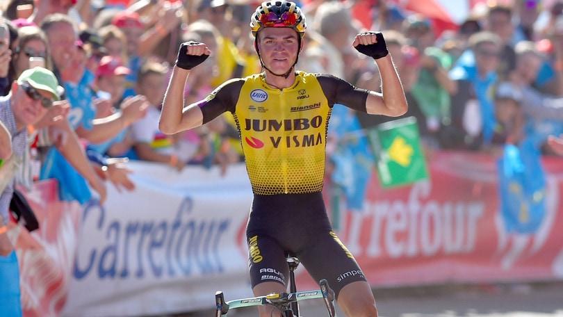 Vuelta, Kuss vince la 15ª tappa. Roglic risponde a Valverde